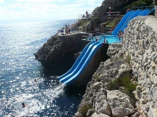 Slide at Citta Del Mare hotel in Sicily