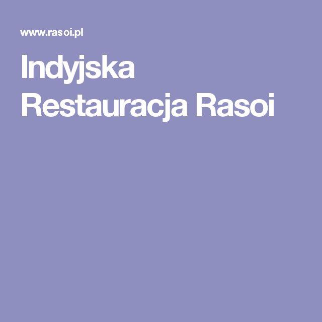 Indyjska Restauracja Rasoi