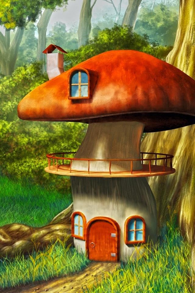 Mushroom House By U003dflavaccino