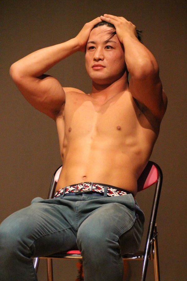 鍛えた田中翔の筋肉は素晴らしい