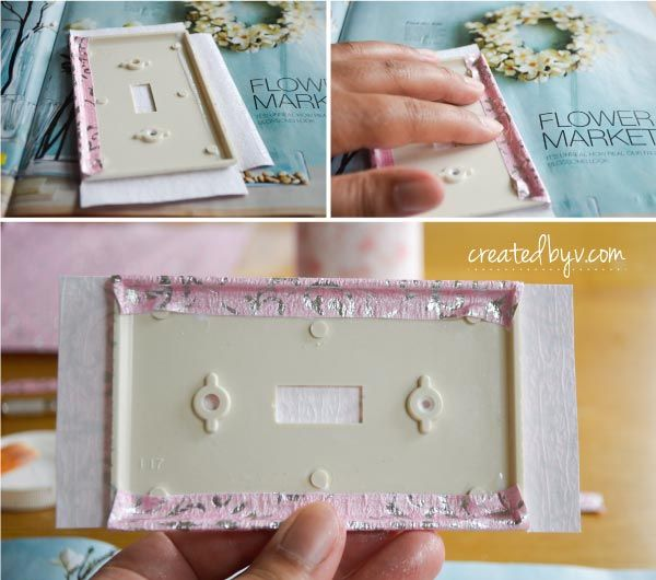 Diy Decorative Switch Plates Outlet Covers Created By V Decorative Switch Plate Switch Plates Easy Diy Wreaths