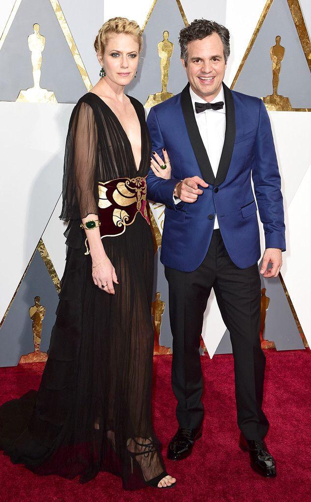Mark Ruffalo & Sunrise Coigney from Couples at the 2016 Oscars | E! Online