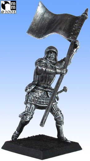 Mindstalkers: soldiers generic for factions of Milan and Venice. Standard Bearer without sword 05