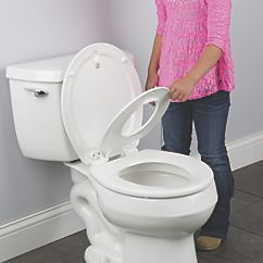 round disappearing potty seat