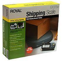 Royal® Shipping Scale - 315 lb. capacity
