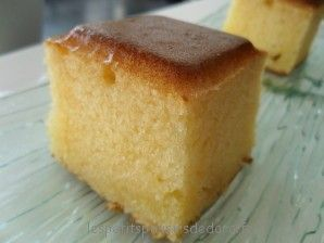 CAKE AU LAIT CONCENTRE ET A LA FLEUR D'ORANGER