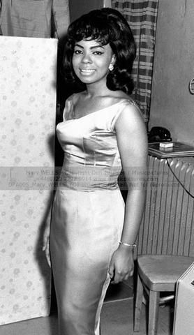 """Mary Wells:  """"The Queen of Motown"""" until her departure from the company in 1964, at the height of her popularity. She was one of Motown's first singing superstars."""