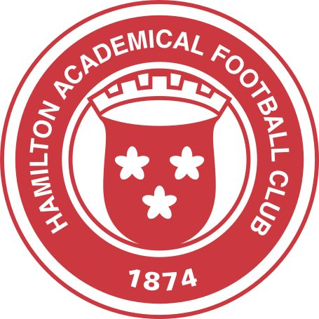 Full name 	Hamilton Academical Football Club Nickname(s) 	The Accies Founded 	1874; 141 years ago Ground 	New Douglas Park, Hamilton Capacity 	6,018[1] Chairman 	Les Gray Manager 	Martin Canning League 	Scottish Premiership 2014–15 	Scottish Premiership, 7th