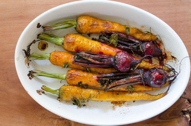 Carrot & Beetroot - Warzywa z grilla