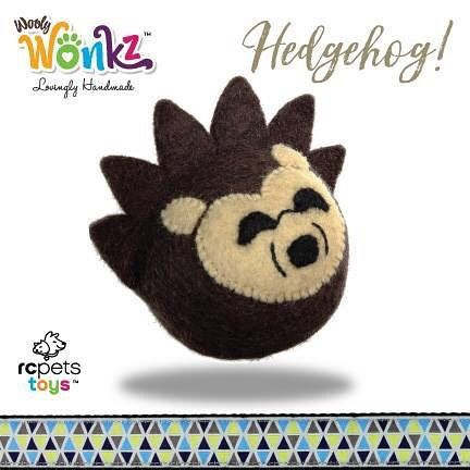 Today we will be introducing you to four of our new friends. They are the woodland creatures of Wooly Wonks and they are the first collection from our new brand RC Pets Toys. All our toys are handmade by artisans in Nepal of 100% New Zealand wool.  This is Hedgehog!  Meet all of Hedgehog's friends and learn more about our new toy brand here: http://bit.ly/RC-Pets-Toys  #WoolyWonks #WoodlandSeries #sustainable #unique #DesignedInCanada #Nepal #NewZealandWool #pettoys