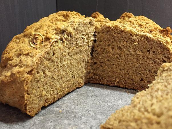 Barley Flour Soda Bread After A Most Successful Go At