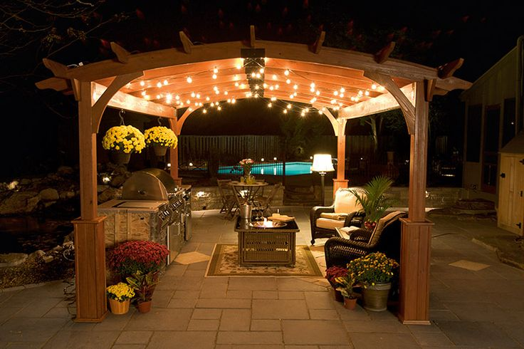 1000 Images About Covered Pergola Ideas On Pinterest