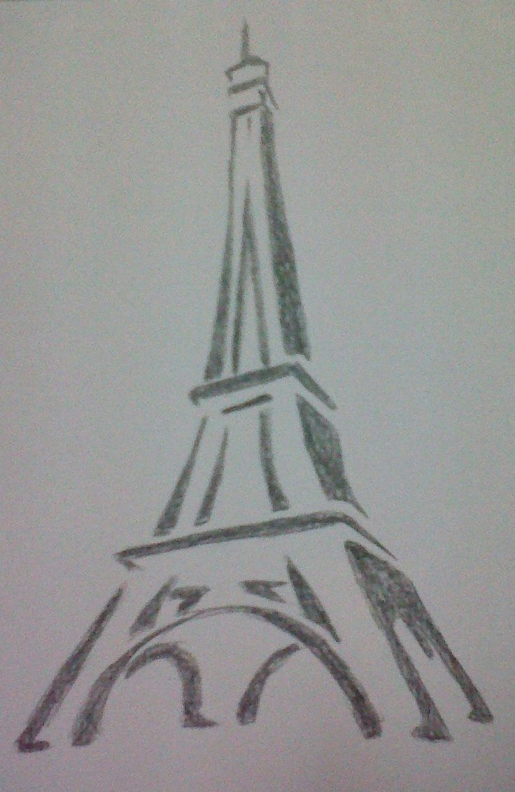 Uncategorized Good Easy Drawings best 25 easy sketches ideas on pinterest drawings art love this drawing of the eiffel tower ive tried to draw