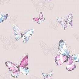Holden Decor Amelia Butterfly wallpaper 98870