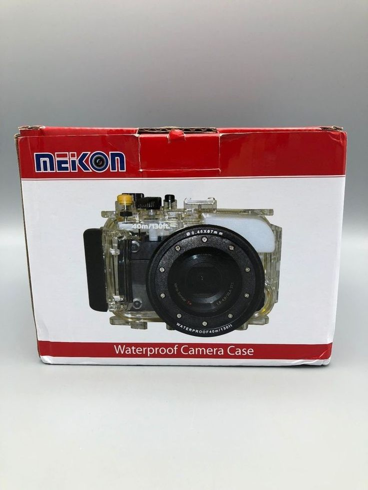 Meikon Waterproof Camera Case For Nikon V1 10-30mm 40m/130 ft #Meikon
