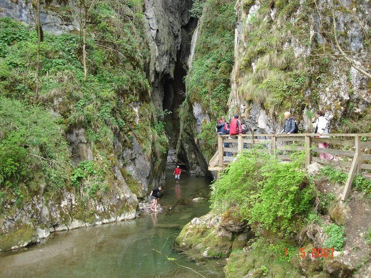 Huda lui papara cave entrance, Apuseni Mountains, Alba County, Romania