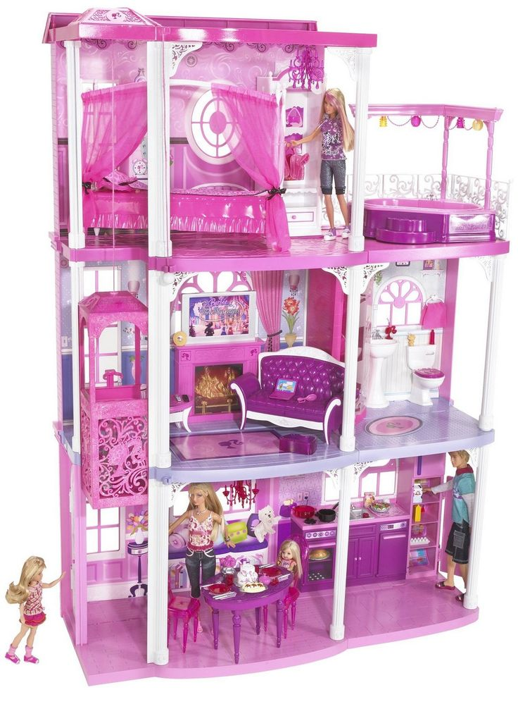 best 20 barbie dream house ideas on pinterest barbie dream dreamhouse barbie and barbie. Black Bedroom Furniture Sets. Home Design Ideas