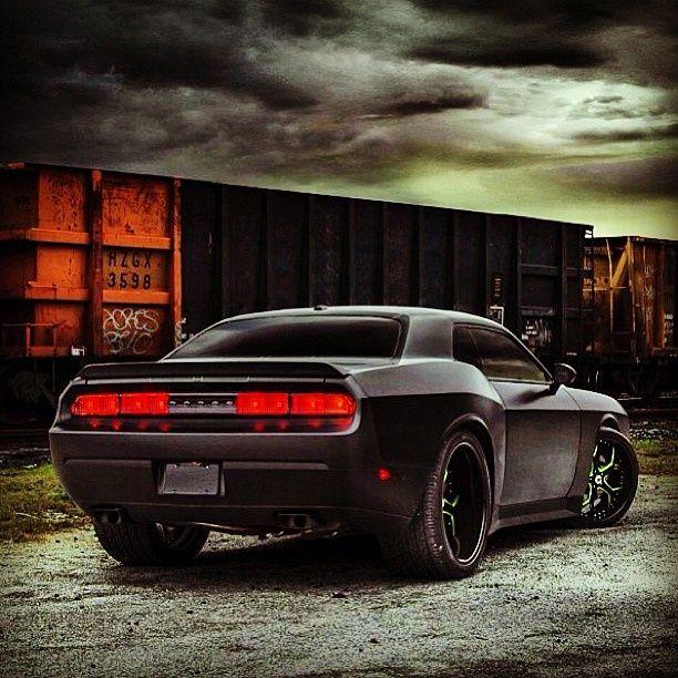Dodge Challenger SRT #CarFlash
