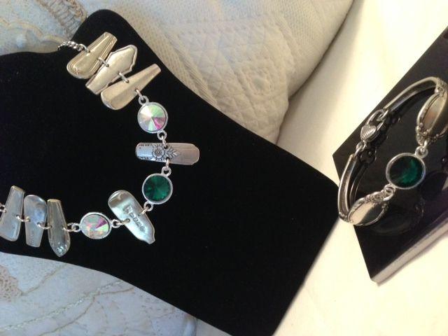 Spring Spoon Jewellery with Swarovski Elements