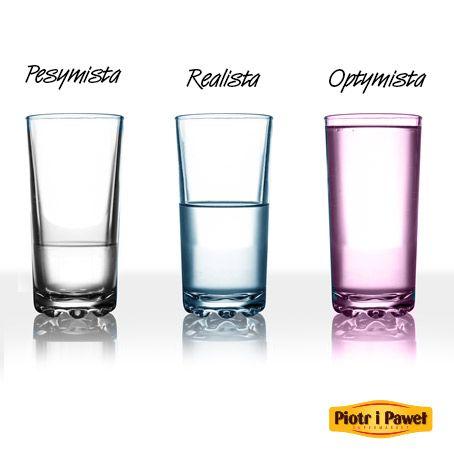 Jakiego koloru jest twoja szklanka ?