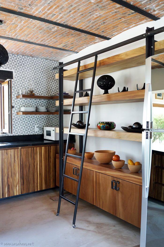 A rustic industrial kitchen makeover / Renovación de cocina estilo rústico industrial - Casa Haus Decoración