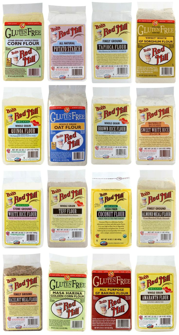 Gluten Free Flours from Bob's Red Mill