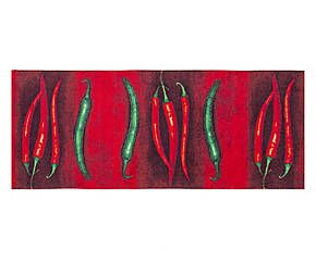 Passatoia in tessuto jacquard Hot Chili rosso - 60x220 cm