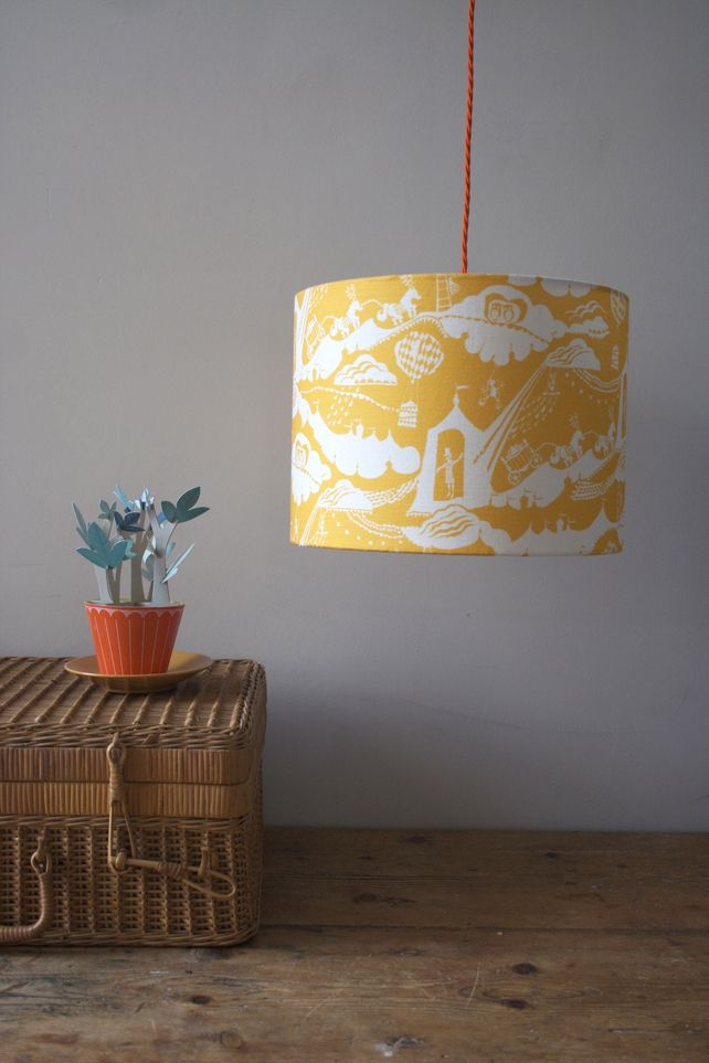 Enter the Magician Lampshade in Sunshine