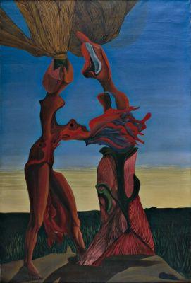 Jacques Hérold Date - 1936 Medium Oil on canvas Dimensions - 144.7 x 96.7 cm