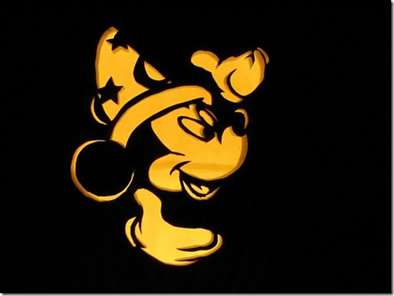 168 best sorcerer apprentice mickey images on pinterest for Halloween pumpkin painting templates
