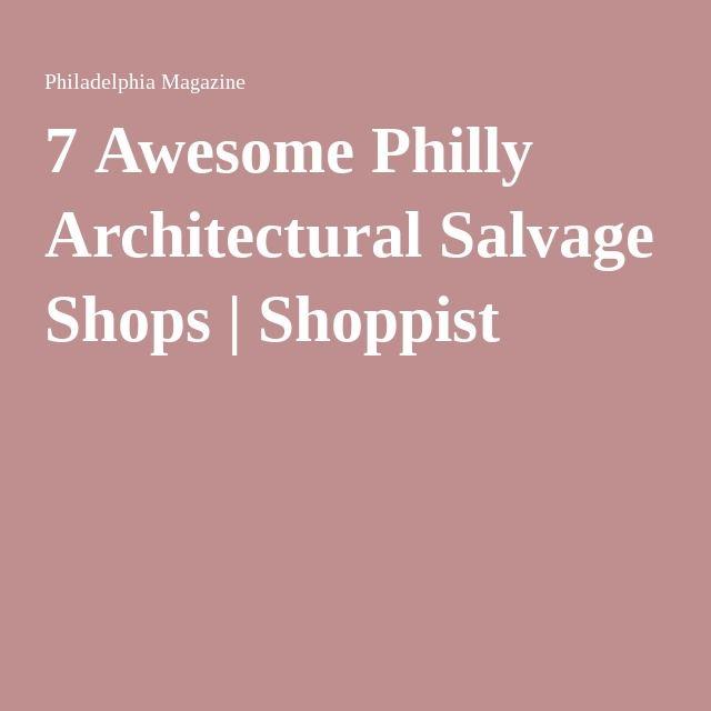architectural salvage philadelphia