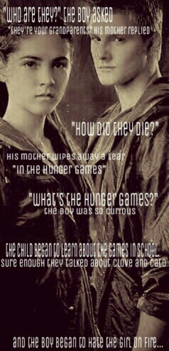 cato and clove relationship in the book