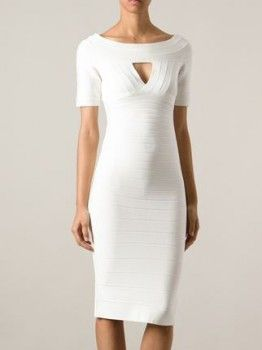 Herve Leger Boatneck Bodycon Dress worn by Sophie Kachinsky on 2 Broke Girls. Shop it: http://www.pradux.com/herve-leger-boatneck-bodycon-dress-35486?q=s34