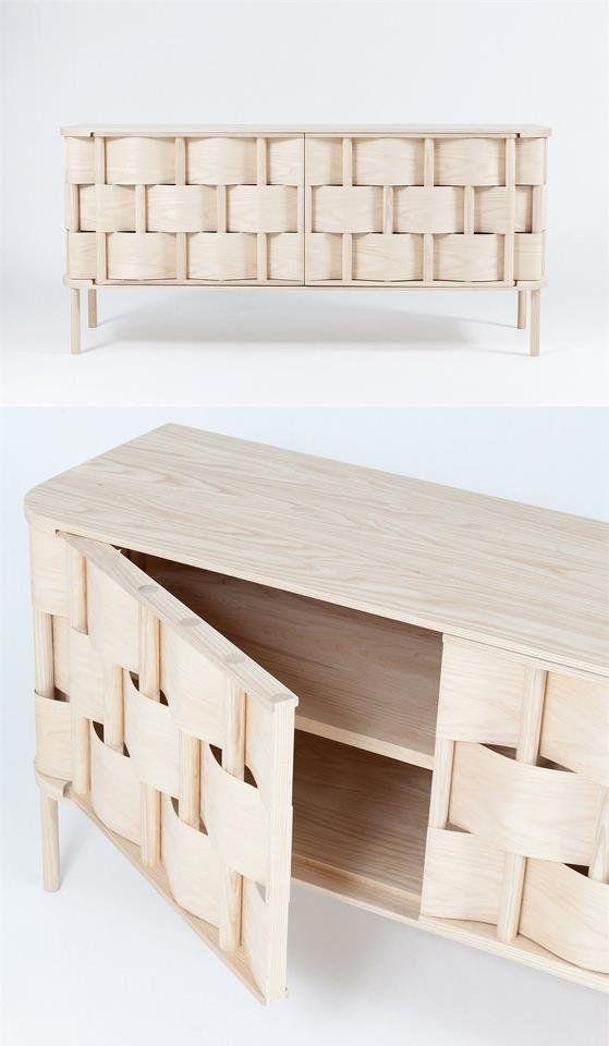 Wave Cupboard - Stokholm, Sweden - 2012 by Lukas Dahlen #design #wood
