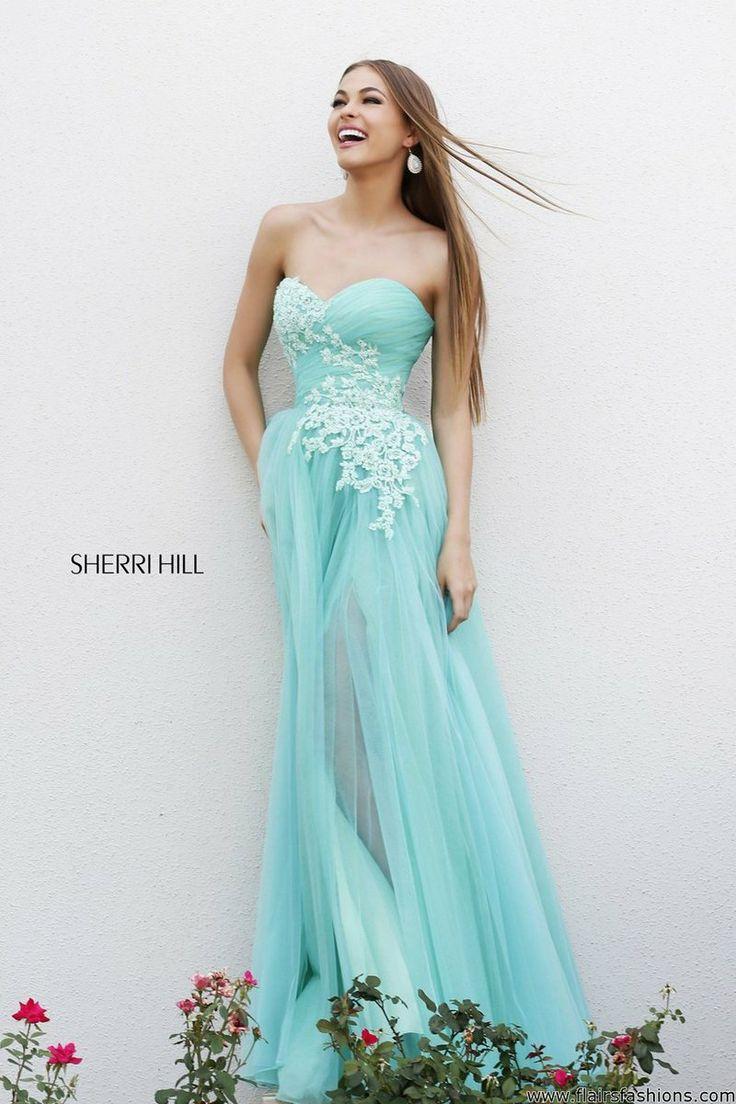 72 best Sherri Hill images on Pinterest | Formal prom dresses ...