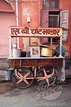Snack (Chaat) Vendor                                                       …