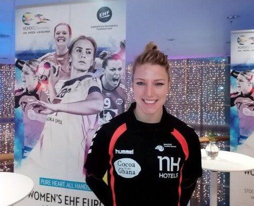 Handball EM 2016: Cornelia Nycke Groot (Niederlande) im SPORT4FINAL-Interview » Handball EM 2016 Schweden: Medien-Tage im Mannschafts-Hotel sind a ...