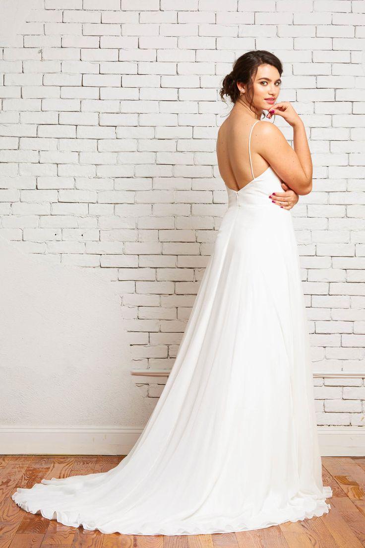 The 41 best plus size wedding dresses images on Pinterest   Curve ...