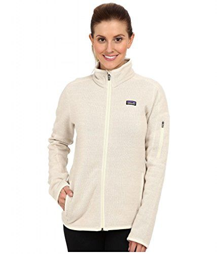 Patagonia Better Sweater Fleece Jacket  Womens  XLarge Raw Linen >>> Check out the image by visiting the link.(This is an Amazon affiliate link and I receive a commission for the sales)