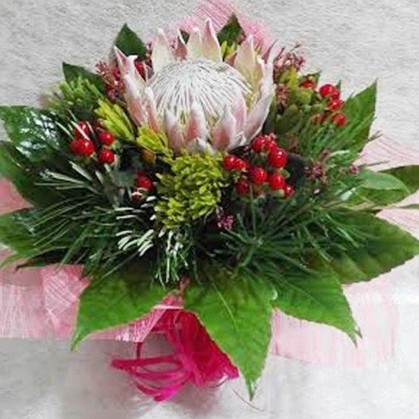 Resultado de imagem para arranjos florais com proteas