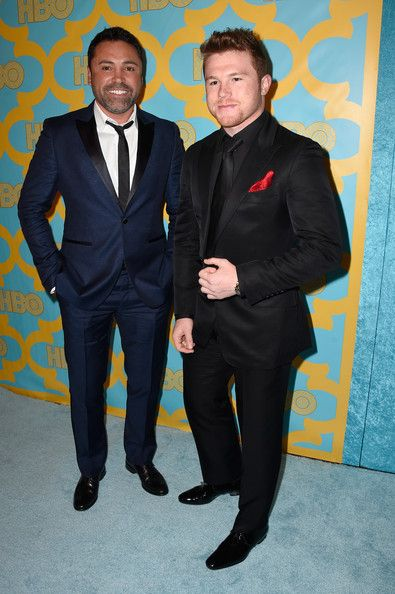 Canelo Alvarez Photos - HBO Golden Globes Party - Zimbio