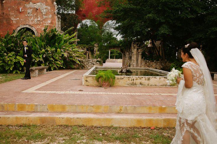 Vero y Gus Boda Hacienda Hunxectaman Merida, Yucatan, Mexico