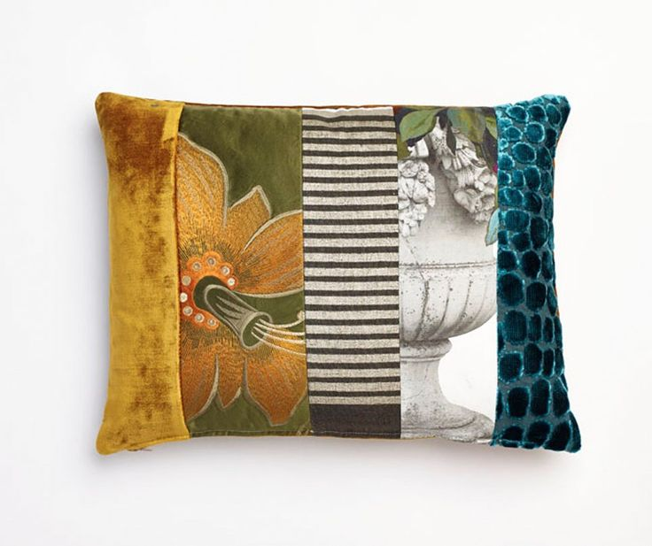 'Elizabeth' Luxury Patchwork Cushion