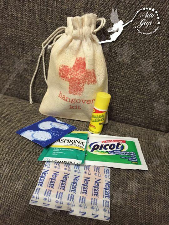 Hangover kit básico y practico