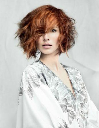 Coupe cheveux ondulés automne-hiver 2015 @ Laetitia Guenaou pour L'Oréal Professionnel