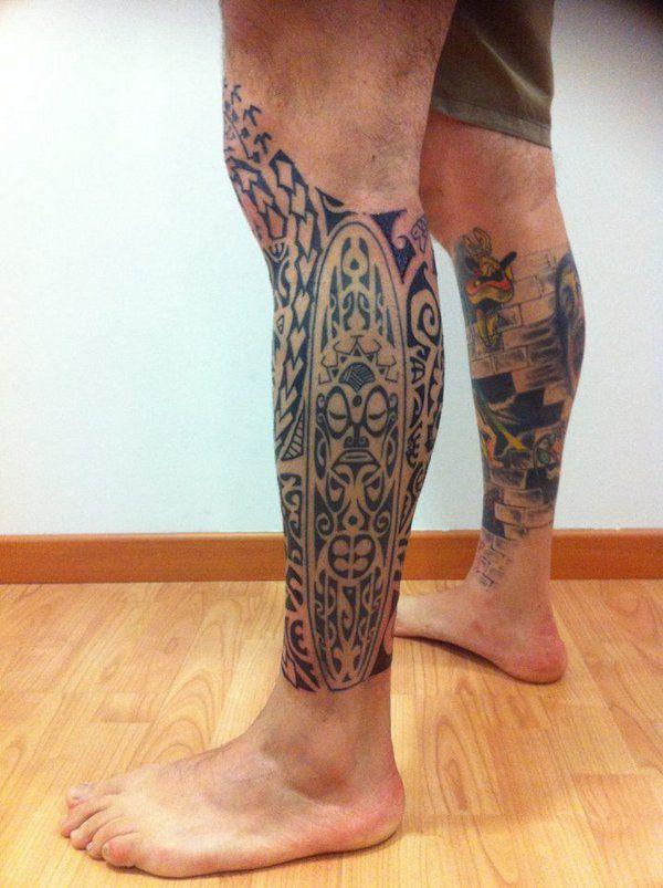 Mario - Polynesian leg