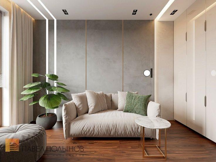Фото: Комната для гостей - Квартира в стиле минимализм, ЖК «Смольный парк», 103 кв.м.