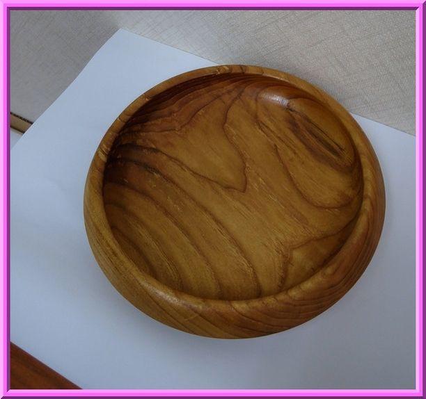 桑の木の器
