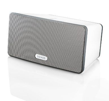 Amazon.com: SONOS - PLAY:3 Wireless Speaker for Streaming Music (Small) - White: Electronics $299