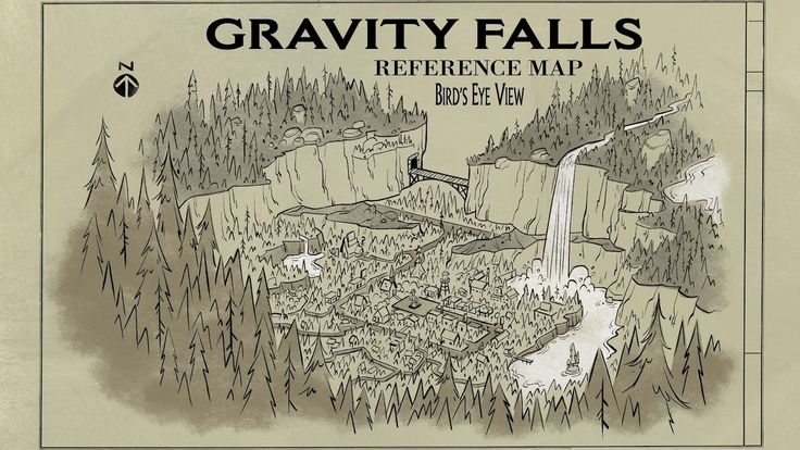 ubicacion de gravity falls buscar con google gravity falls